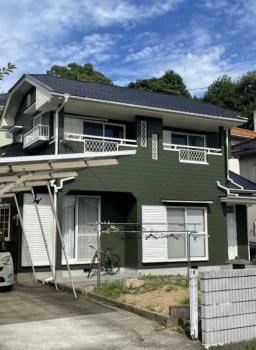 西条市 H様邸  屋根・外壁塗装工事事例